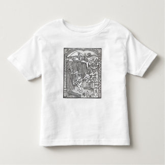 The Month of August, from a shepherd's calendar Toddler T-Shirt