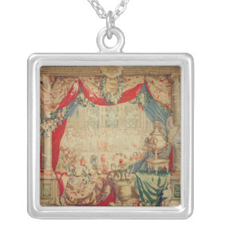 The Month of February Silver Plated Necklace