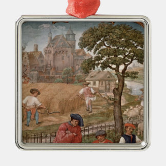 The Month of July Christmas Ornament
