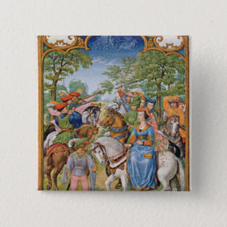 The Month of May 15 Cm Square Badge