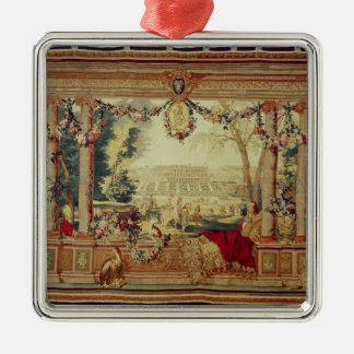 The Month of May/ Chateau of Christmas Ornament