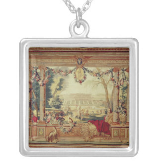 The Month of May/ Chateau of Silver Plated Necklace