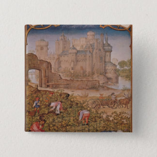 The Month of September 15 Cm Square Badge