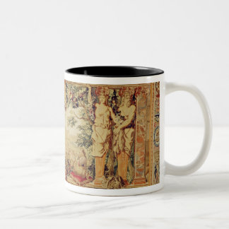 The Month of September/ Chateau of Chambord Two-Tone Coffee Mug