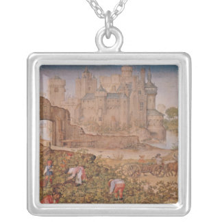 The Month of September Silver Plated Necklace