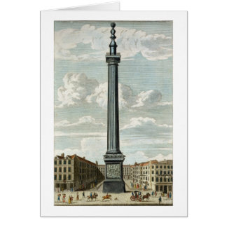 The Monument, engraved by William Henry Toms (c.17 Cards