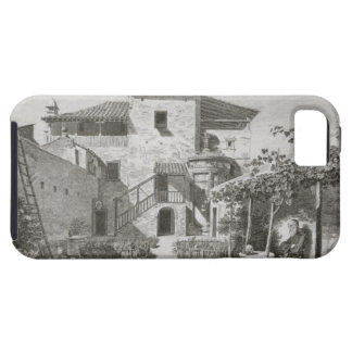 The Monument of Lysicrates in the garden of the Ca iPhone 5 Cover