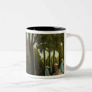 The Monument to Chopin Two-Tone Coffee Mug