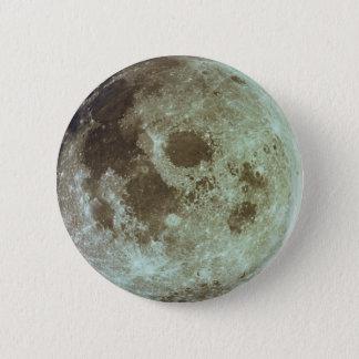 The Moon 6 Cm Round Badge