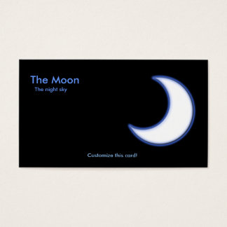 The Moon Business Card