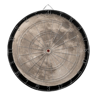 The Moon Dartboard