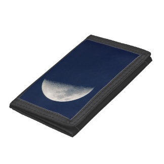 The Moon From Howick, Kwazulu-Natal Tri-fold Wallets