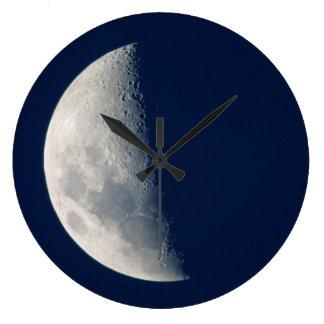 The Moon From Howick, Kwazulu-Natal Wallclocks