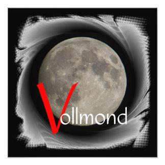 The moon, la lune, la luna, the moon poster photograph