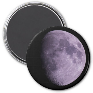 The Moon - Large, 7.6 Cm Round Magnet