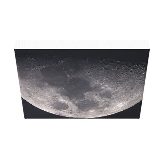 The Moon on Canvas