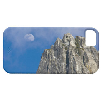 The moon rises and shines through the clouds iPhone 5 cases