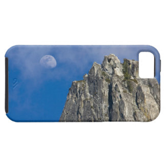 The moon rises and shines through the clouds iPhone 5 covers