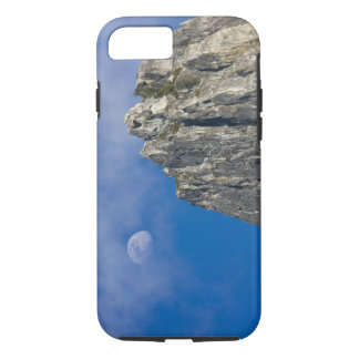 The moon rises and shines through the clouds iPhone 7 case