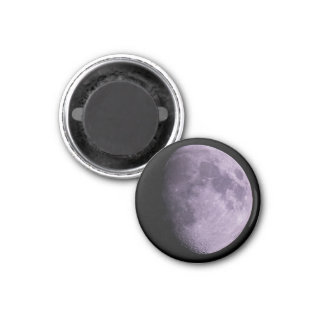 The Moon - Small, 3.2 Cm Round Magnet