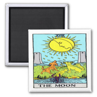 The Moon Square Magnet