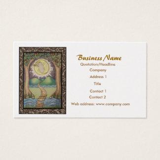 custom tarot business cards. Black Bedroom Furniture Sets. Home Design Ideas