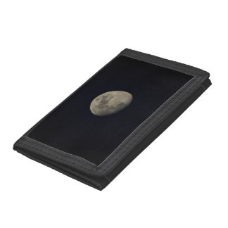 The Moon Trifold Wallet