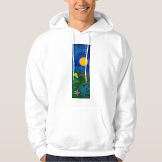 The Moon was Travelling in Scorpio 2014 Hoodie