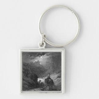 The Moonlight Ride Key Ring
