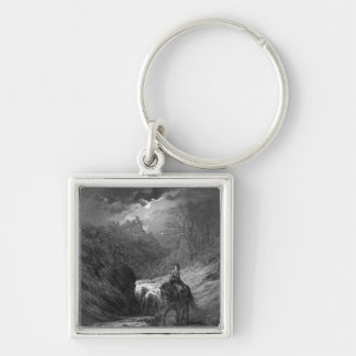 The Moonlight Ride Keychain