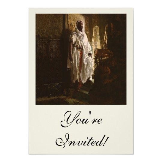 The Moorish Chief African Art Card