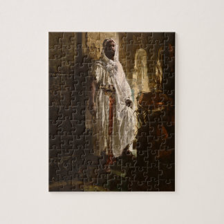 The Moorish Chief African Art Jigsaw Puzzle