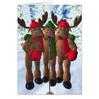 The Moose Brothers: Christmas Carol Card
