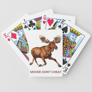 THE MOOSE IS LOOSE BICYCLE PLAYING CARDS