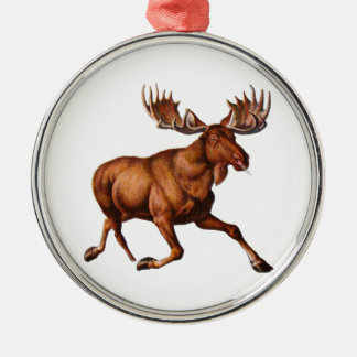 THE MOOSE IS LOOSE CHRISTMAS ORNAMENT