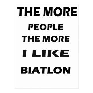 the more baithlon postcard