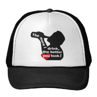 The More I Drink hat - choose color