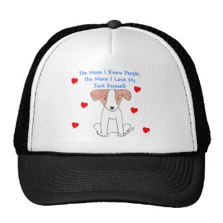 The More I Know People Jack Russell Cap