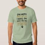 The More People I Meet ... Golden Retriever Tee Shirt