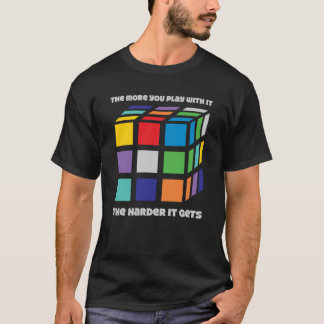The More You Play With It Tee - Black