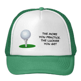 The More You Practice Hats