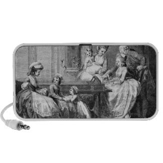 The Morning Amusements of the Royal Family iPhone Speaker