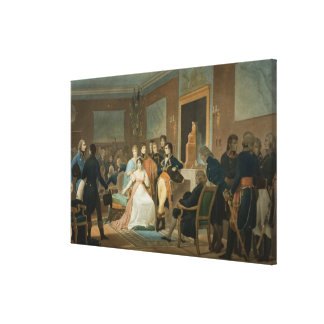 The Morning of the 18th Brumaire (9th November) 17 Canvas Print