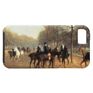 The Morning Ride, Rotten Row, Hyde Park, 1894 (oil iPhone 5 Case