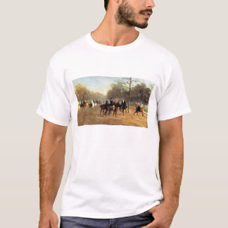 The Morning Ride, Rotten Row, Hyde Park, 1894 (oil T-Shirt