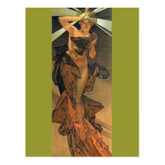 The Morning Star - Art Nouveau Post Cards