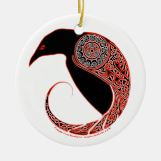 The Morrigan Raven Celtic Ornament #2