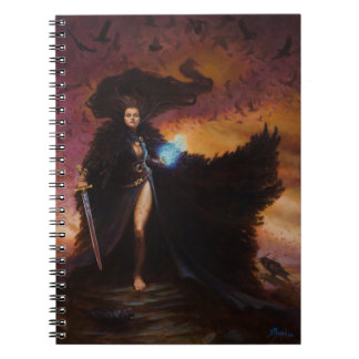 The Morrighan Spiral Notebook