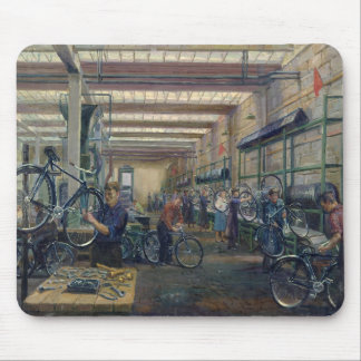 The Moscow Cycle Works, c.1930 Mouse Pad