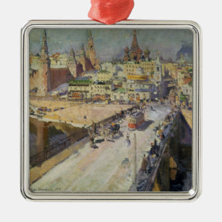 The Moskva River Bridge, 1914 Christmas Ornament